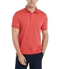 men's big and tall hidden zip polo shirt