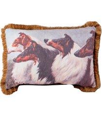 almofada decorativa de veludo zeya