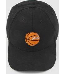 boné altai basquete preto - kanui