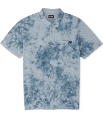 billabong men's sundays tie-dyed shirt