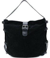 dolce & gabbana pre-owned strappy shoulder bag - black