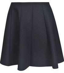 msgm flared skirt
