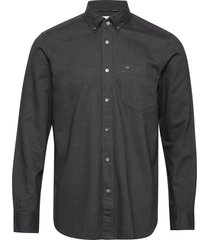 button down brushed twill shirt skjorta casual grå calvin klein