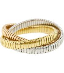12mm tri-color rolling bracelet