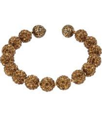 miriam haskell new york caviar beaded coil bracelet