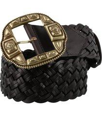 etro jewel buckle leather belt