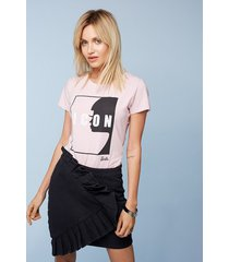 t-shirt pink icon