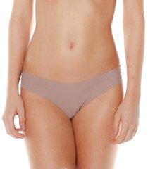 calcinha sem costura nozes make - 406.022 marcyn lingerie básica bege