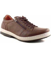 zapatilla marrón briganti signoret