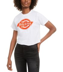 dickies cropped iconic logo t-shirt