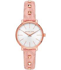 reloj fashion rosa michael kors