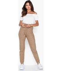 river island cable jogger byxor