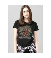 camiseta bandup! the rolling stones rock n' roll
