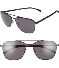 boss 1103/f/s 62mm navigator sunglasses in black at nordstrom
