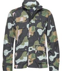 ams blauw 4 pocket military jacket dun jack multi/patroon scotch & soda