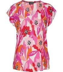 blouse short-sleeve blouses short-sleeved taifun