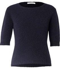 soft flash sweater in dark navy