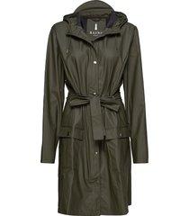 curve jacket regnkläder grön rains