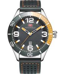 reloj análogo f0155g-2 hombre gris