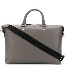 mulberry city briefcase - grey