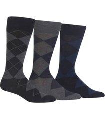 polo ralph lauren men's socks, extended size argyle dress men's socks 3-pack