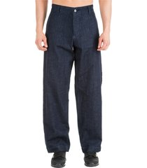 emporio armani trousers pants loose fit