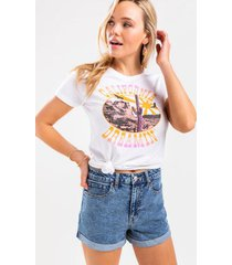 harper heritage high waist mom denim shorts - medium wash