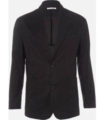 our legacy men's 70's club blazer - black voile - l