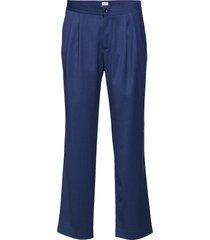 m. fabian gabardine trouser kostuumbroek formele broek blauw filippa k