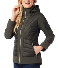 free country super soft shell hybrid jacket