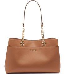 calvin klein chained satchel