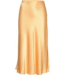 alsop skirt 10447 maxikjol lång kjol gul samsøe & samsøe