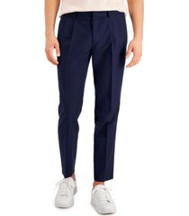 inc international concepts men's safari slim-fit tapered pants, created for macy's