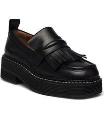 shoes a1247 loafers låga skor svart billi bi