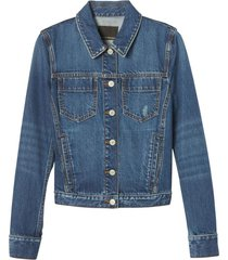 chaqueta clean classic denim azul banana republic