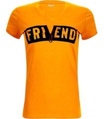 camiseta friend color amarillo, talla l