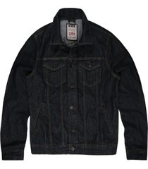 jaqueta khelf jeans azul