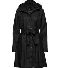 curve jacket regnkläder svart rains