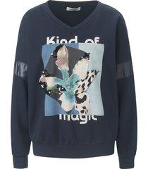 sweatshirt met lange mouwen van margittes blauw
