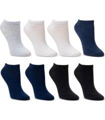 cuddl duds 8-pk. low-cut solid socks