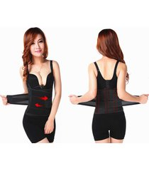 waist trimmer trainer shaper adjustable postnatal recovery support girdle belt