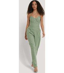 trendyol jumpsuit - green