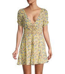 forget-me-not floral dress