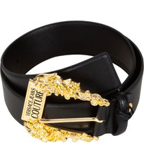 versace jeans couture couture buckled belt