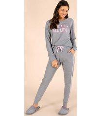 pijama algodão manga longa feminino 141055 mensageiro dos sonhos