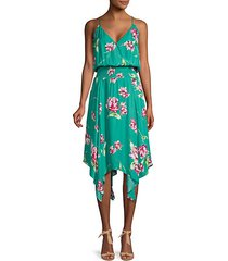 nolen floral flowy sleeveless dress