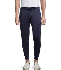 bertigo men's drawstring jogger pants - navy - size xl