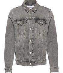 foundation slim denim jacket jeansjack denimjack grijs calvin klein jeans