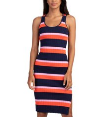 trina turk gardenia striped cotton dress