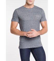 camiseta masculina desfibrada preta calvin klein jeans - pp